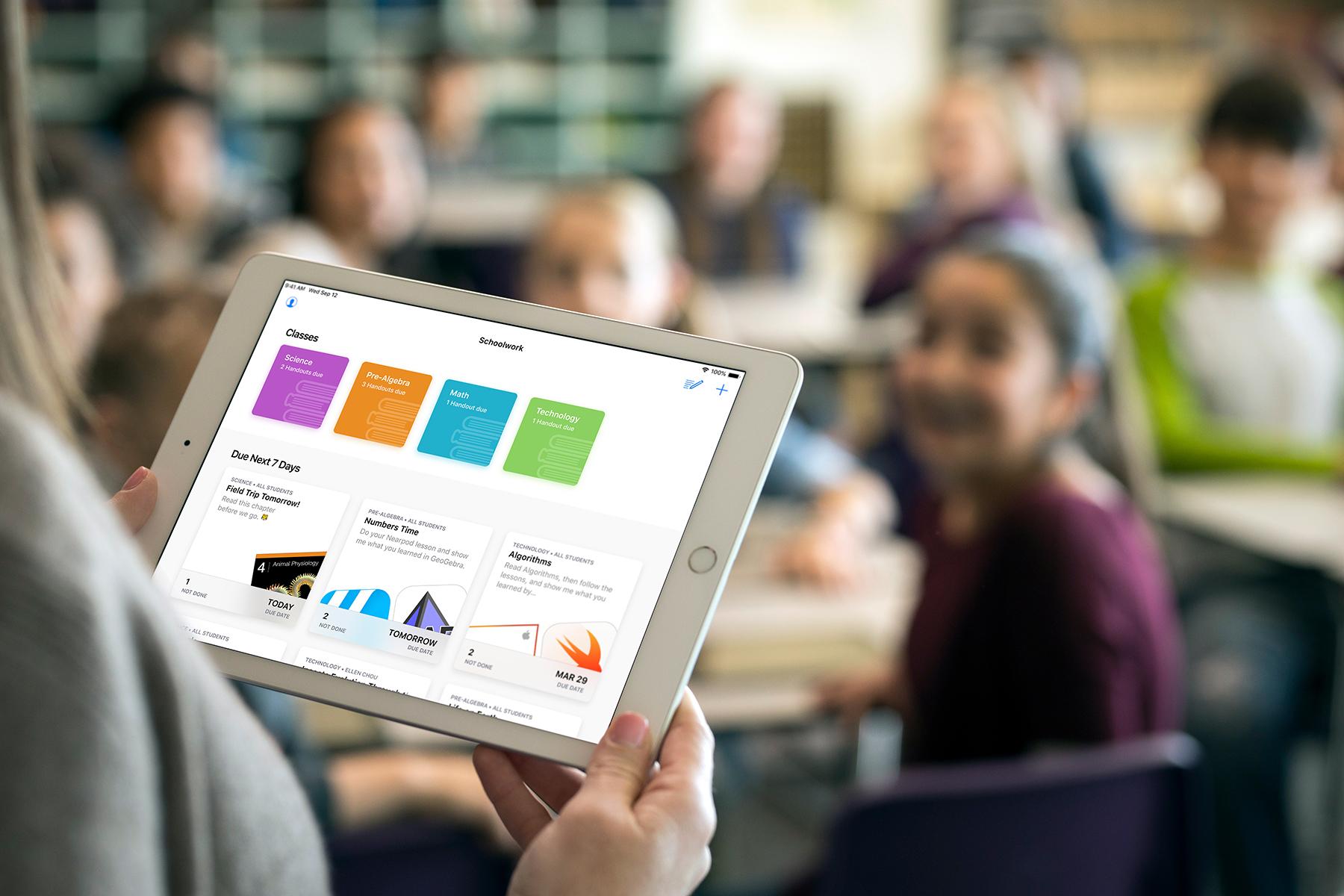 iPad in de klas